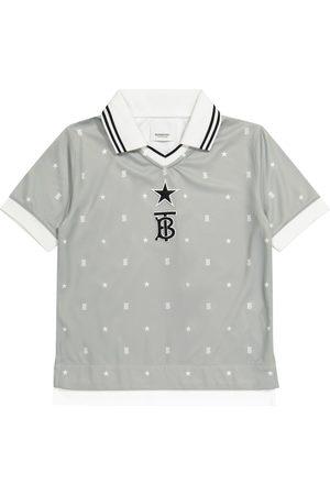 Burberry Logo technical-jersey polo shirt
