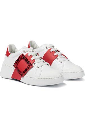 Roger Vivier Dame Sneakers - Viv Skate Strass leather sneakers