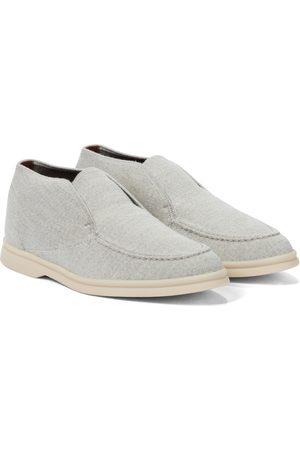Loro Piana Open Walk cashmere loafers