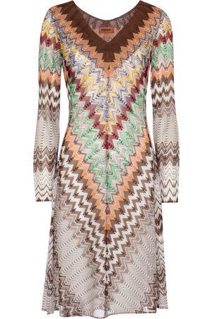 Missoni Zig-zag knit minidress