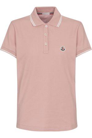 Moncler Cotton piqué polo shirt