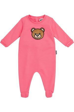 Moschino Baby stretch-cotton onesie