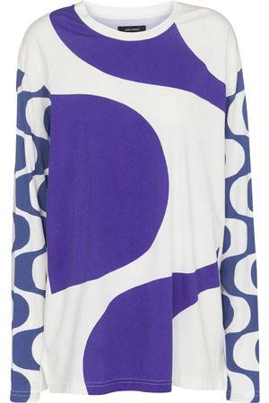 Isabel Marant Leilo printed cotton top