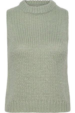 Envii Entrepka Sl Knit 5245 Vests Knitted Vests Grønn