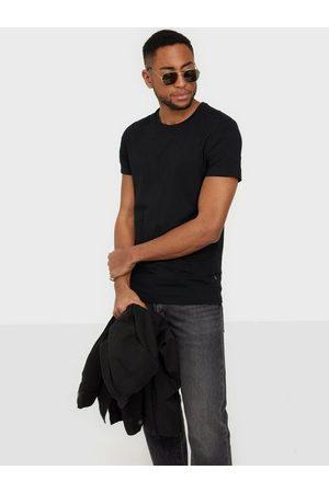 Casual Friday David crew neck t-shirt T-skjorter og singleter Black