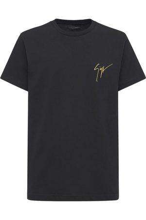 Giuseppe Zanotti Signature Embro Cotton Jersey T-shirt