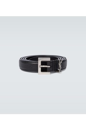 Saint Laurent Herre Belter - YSL leather belt