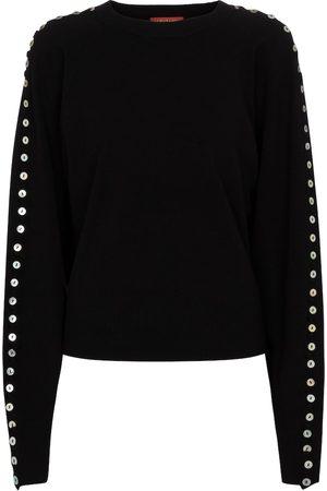 Altuzarra Dame Strikkegensere - Thallo embellished sweater