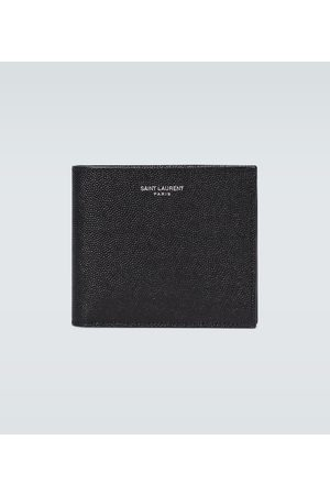 Saint Laurent Grained leather wallet