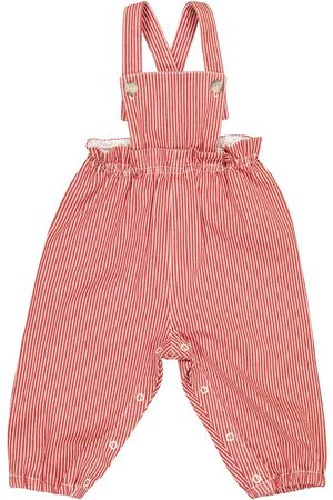 BONPOINT Baby Papaye stretch-cotton overalls