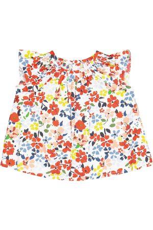 BONPOINT Baby Noelle floral cotton blouse