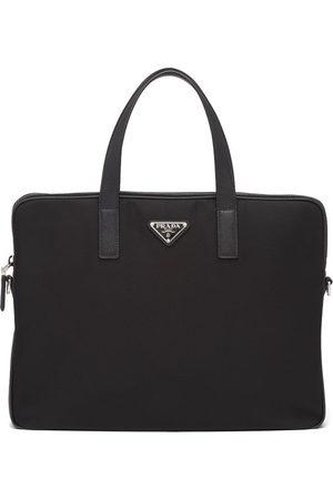 Prada Triangle-logo briefcase