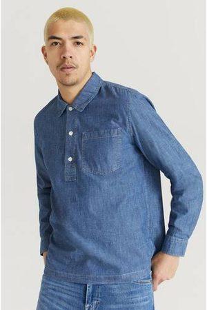WoodWood Herre Langermede - Skjorte Albert Chambray Shirt