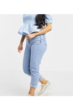New Look Mom jeans in light blue stonewash