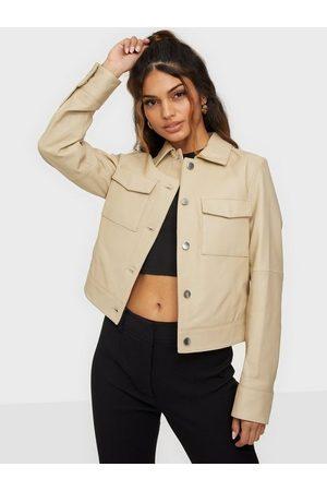 Jofama Dame Skinnjakker - Lynn Pocket Leather Jacket