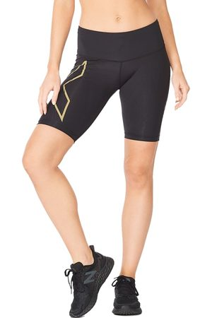 2XU Dame Shorts - Women's Light Speed Mid-Rise Compression Shorts