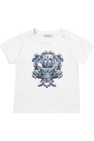 Dolce & Gabbana Kids Baby cotton jersey T-shirt