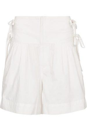 Isabel Marant, Étoile Dame Shorts - Opala cotton shorts