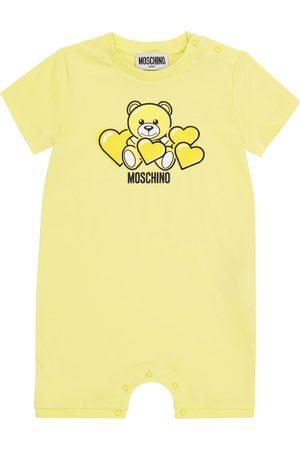 Moschino Kids Baby cotton onesie