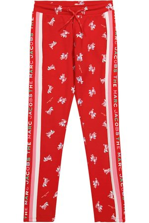 The Marc Jacobs Jente Bukser - Poodle-print trackpants