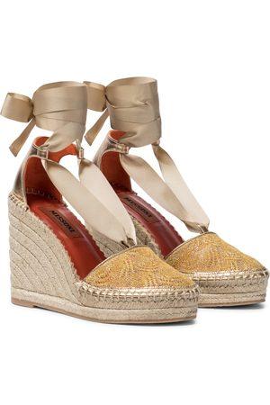 Missoni Dame Espadrillos - Knit wedge espadrilles