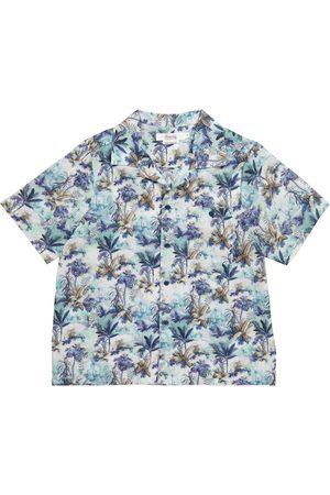 Bonpoint Gutt Skjorter - Steve floral cotton shirt