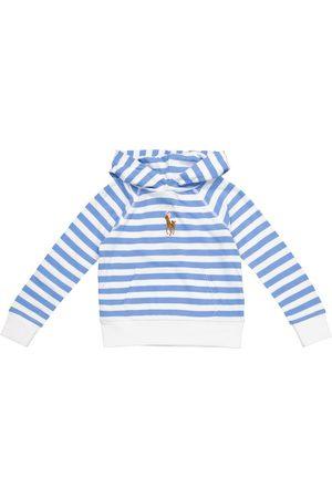 Polo Ralph Lauren Kids Striped cotton hoodie