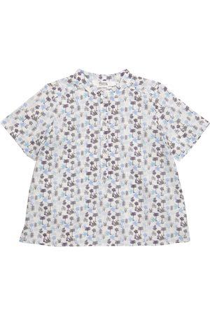 Bonpoint Gutt Skjorter - Cesar floral cotton shirt
