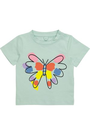 Stella McCartney Kids Kortermede - Baby printed cotton T-shirt