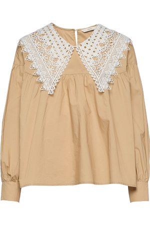 Numph Nucindy Ls Shirt Bluse Langermet