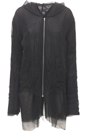 MAISON MARGIELA Silk Organza Zip-up Sweatshirt Hoodie