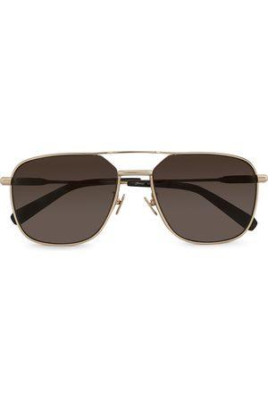 BRIONI Herre Solbriller - BR0067S Sunglasses Gold/Brown