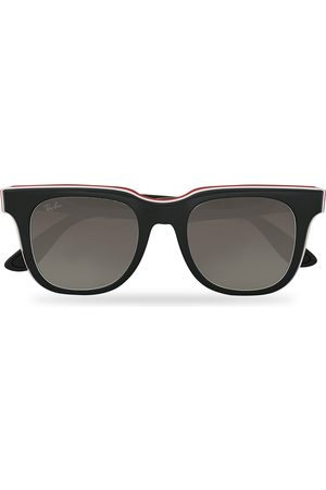 Ray-Ban Herre Solbriller - RB4368 3-Layered Sunglasses Black/White/Red