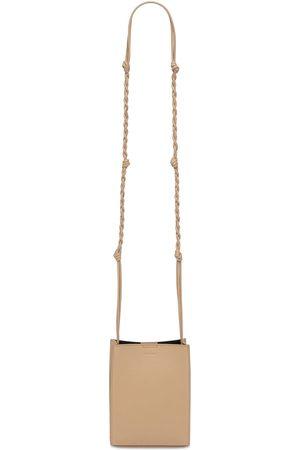 Jil Sander Small Tangle Leather Tote Bag