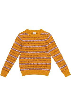 MORLEY Gutt Strikkegensere - Nomad cotton-blend sweater
