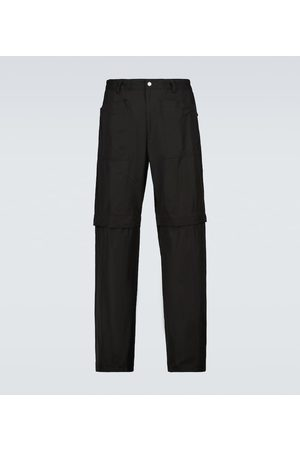 DRIES VAN NOTEN Herre Bukser - Convertible cotton trackpants