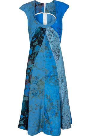 Marine Serre Dame Mønstrede kjoler - Exclusive to Mytheresa – Printed regenerated cotton minidress