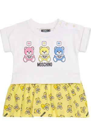 Moschino Baby stretch-cotton dress