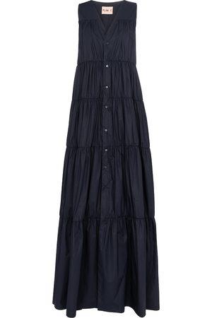 Plan C Sleeveless cotton maxi dress