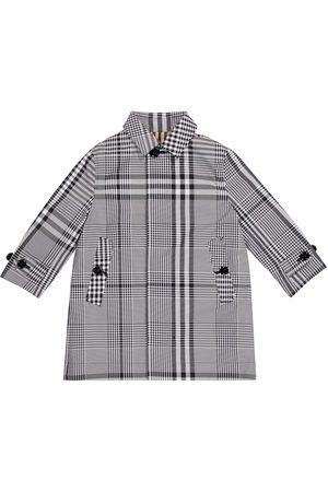 Burberry Vintage Check reversible gabardine coat