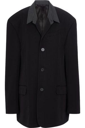 Balenciaga Oversized twill blazer