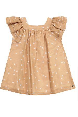 Tartine Et Chocolat Baby cotton and silk dress