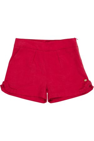 Tartine Et Chocolat Lyocell and linen shorts