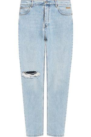 Msgm Herre Straight - Stonewashed jeans