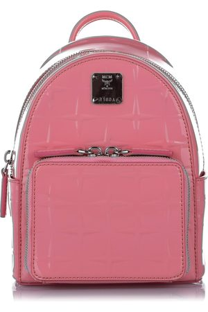 MCM Patent Leather Backpack