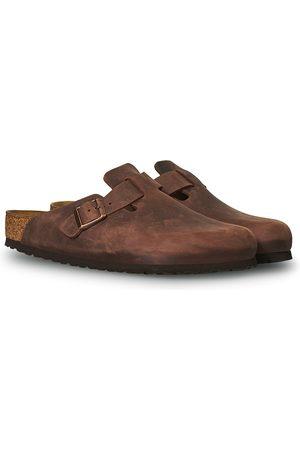 Birkenstock Boston Habana Oiled Leather