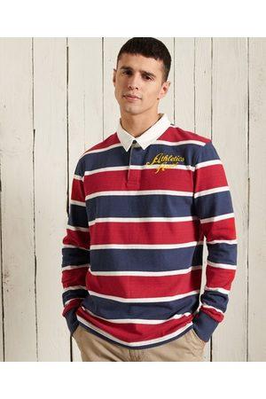 Superdry Langermet rugbyskjorte i jersey