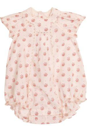 BONPOINT Baby Lotti floral cotton bodysuit