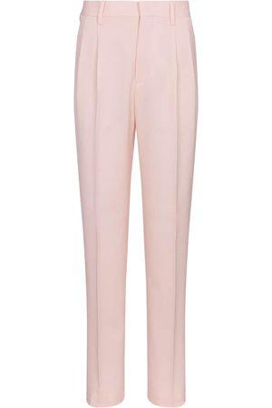 Stella McCartney Julien high-rise wool slim pants