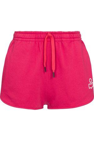 Isabel Marant Mifikia cotton-blend jersey shorts